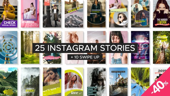 Thumbnail for Instagram Story Templates