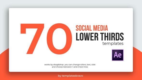 Thumbnail for Lower Thirds mídias sociais
