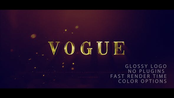 Thumbnail for Vogue Logo Reveal