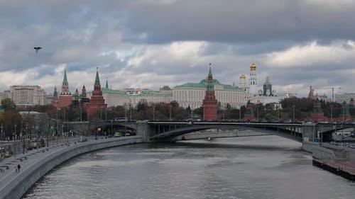 Timelapse of Moscow Kremlin