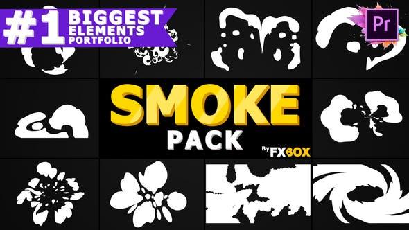 Thumbnail for Hand-Drawn Cartoon Smoke   Premiere Pro MOGRT