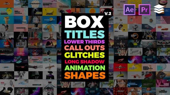 BOX Auto Resizing Titles Pack