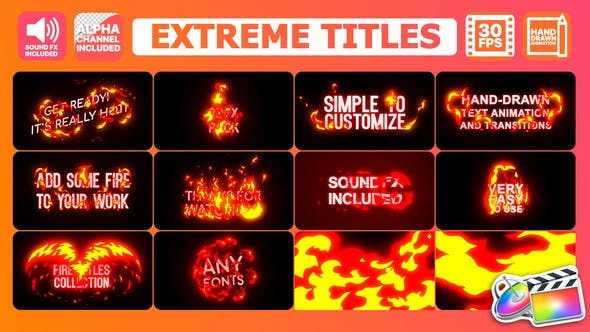 Thumbnail for Extreme Titles | FCPX