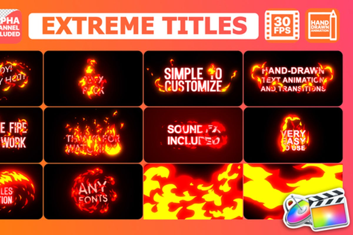 Download 555 Video Templates Compatible with Final Cut Pro