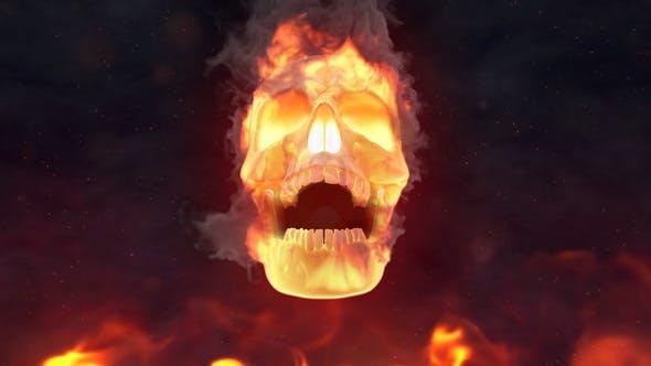 Thumbnail for Fire Skull Logo Reveal