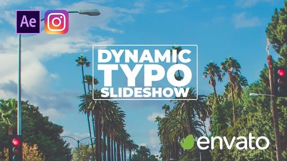 Thumbnail for Dynamic Typo Slideshow