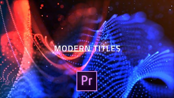 Modern Dots Titles