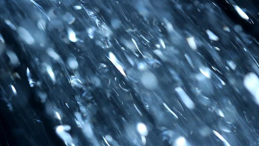 Thumbnail for Background - Shower Abstract In Bluish Tint I