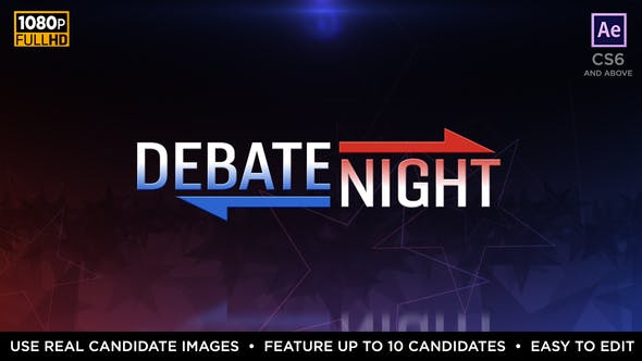 Thumbnail for Debate Night | Political Election Package