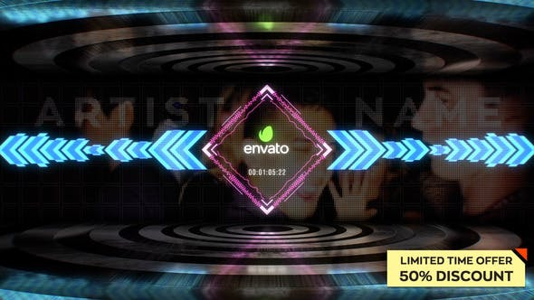 Download 14 Music Visualization Editable Video Templates