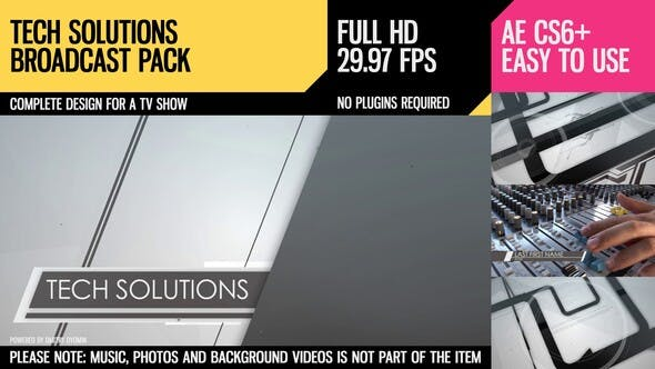Thumbnail for Tech Solutions (Broadcast Pack)