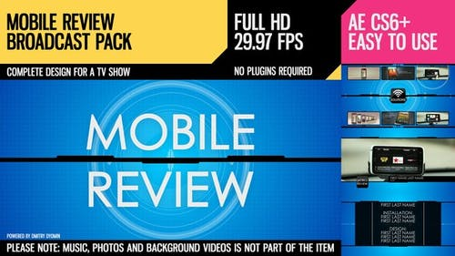 Mobile Review (Broadcast Pack)