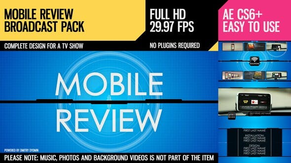 Thumbnail for Mobile Review (Broadcast Pack)