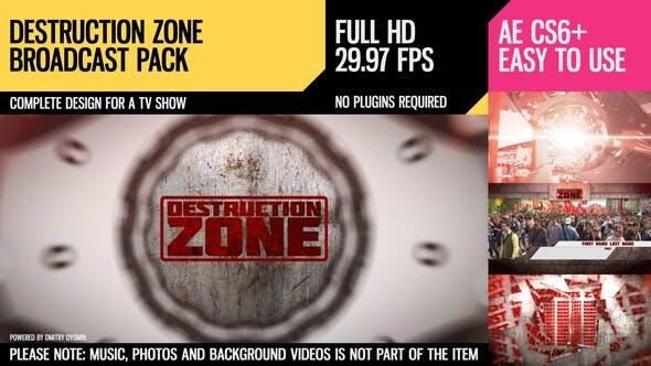Destruction Zone (Broadcast Pack)