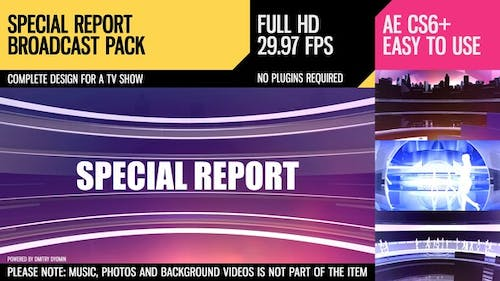 Special Report (Broadcast Pack)