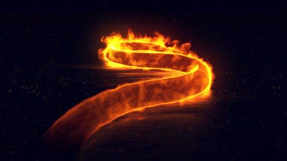 Thumbnail for Magic Snake Logo Intro