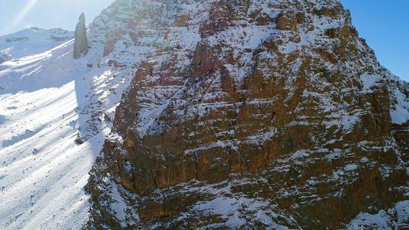 Thumbnail for Mountains Peak In Snow
