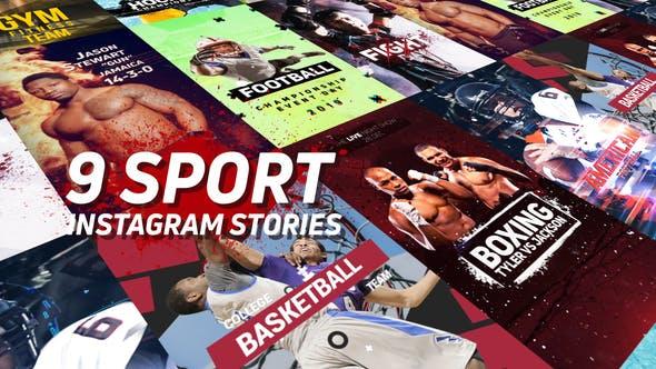 Thumbnail for Sport Instagram Stories Pack
