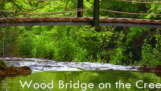 Thumbnail for Wood Bridge On The Creek