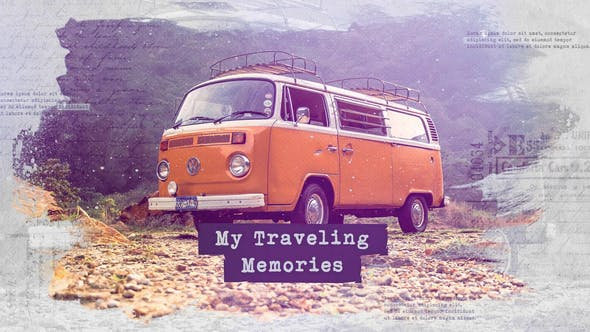 Thumbnail for Traveling Slideshow / Memories Photo Album / Family and Friends / Adventure and Journey