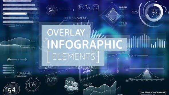 Overlay Infographic Elements