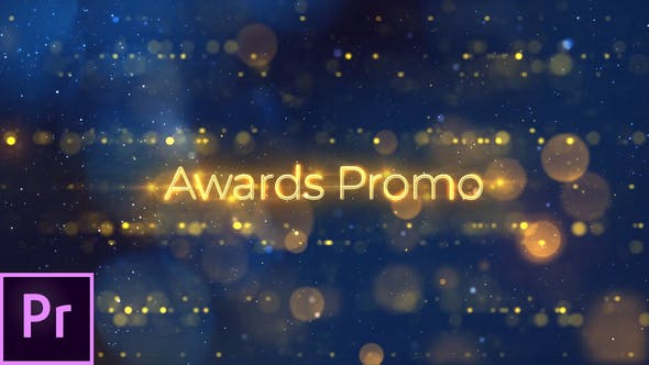 Thumbnail for Awards Promo - Premiere Pro