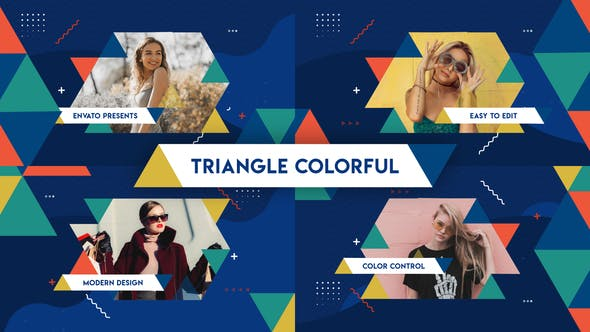 Thumbnail for Triangle Colorful Opener