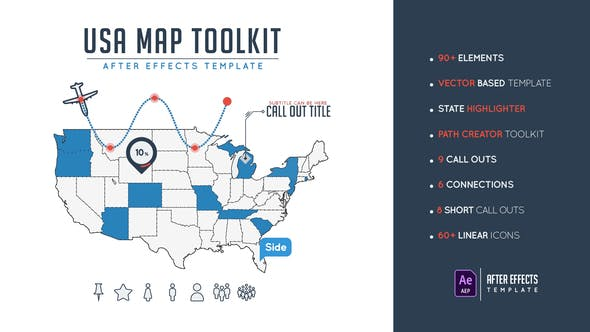 Thumbnail for Usa Map Toolkit