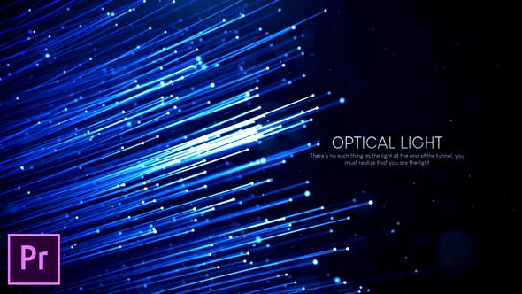 Cover Image for Optical Light Inspiring Titles - Premiere Pro