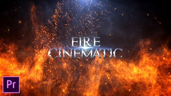 Thumbnail for Fire Cinematic Titles - Premiere Pro