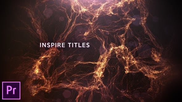 Thumbnail for Inspire Titles - Premiere Pro
