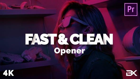 Fast & Clean Opener