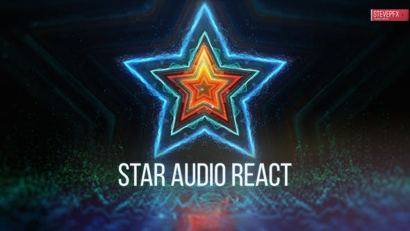 Star Audio React | Music Visualizer