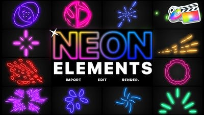 Neon Elements | FCPX