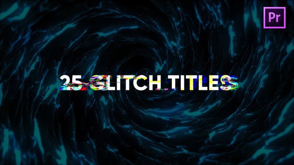 Thumbnail for Glitch Titles for Premiere Pro