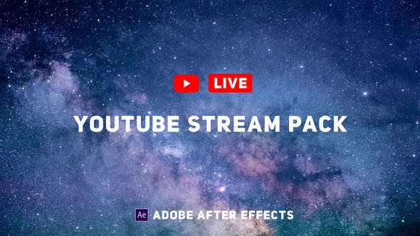 YouTube Live Pack
