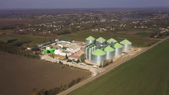 Thumbnail for Silver Silos for Drying Cleaning and Storage of Agricultural Products