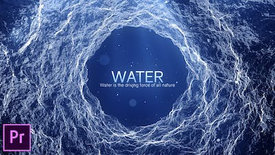 Water - Inspirational Titles - Premiere Pro