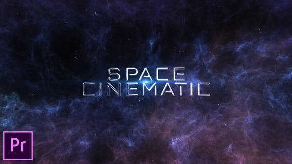 Thumbnail for Space Cinematic Titles - Premiere Pro