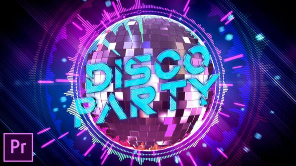 Disco Party Opener - Premiere Pro