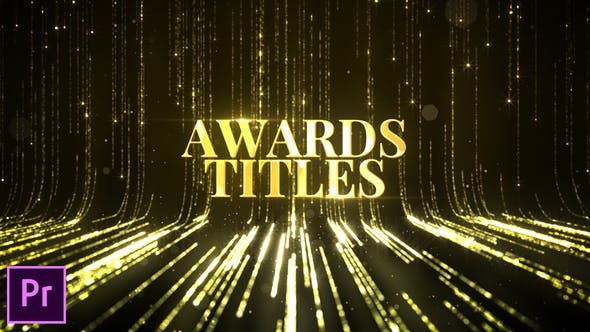 Awards Titles - Premiere Pro