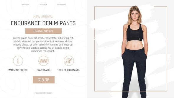 Thumbnail for Minimal Online Shopping Promo