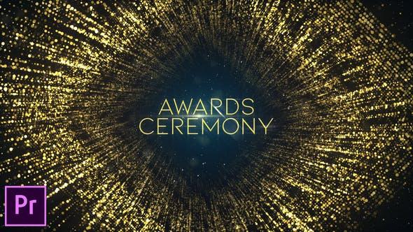 Awards Ceremony Opener - Premiere Pro