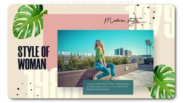 Cover Image for Style of Woman Fashion Slideshow