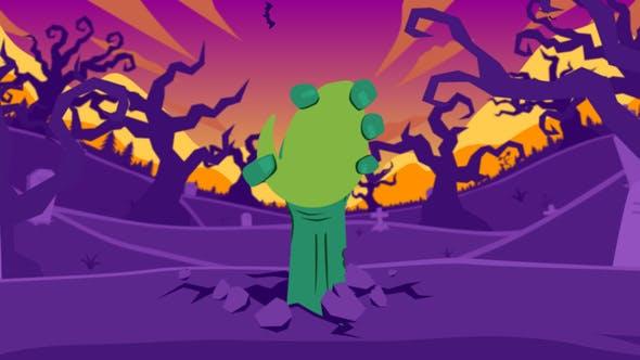 Thumbnail for Halloween Cartoon Logo