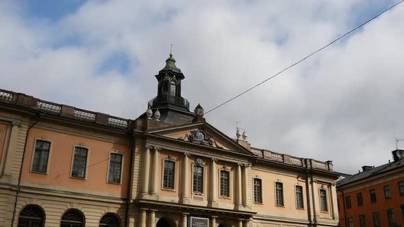 Thumbnail for Time lapse from the Stockholm Stock Exchange Building in Sweden