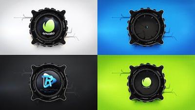 Dynamic Lens Logo Reveal