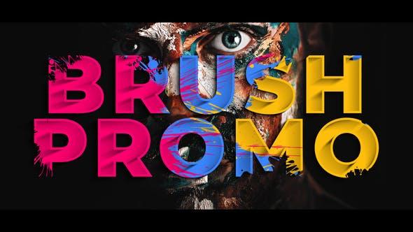 Thumbnail for Colorful Brush Promo
