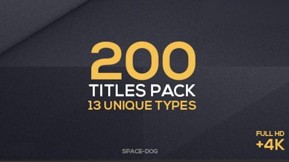 Thumbnail for 200 Titles Collection | Premiere Pro