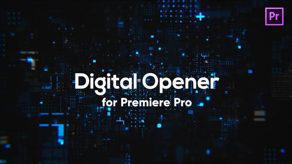 Thumbnail for Digital Technology Opener for Premiere Pro